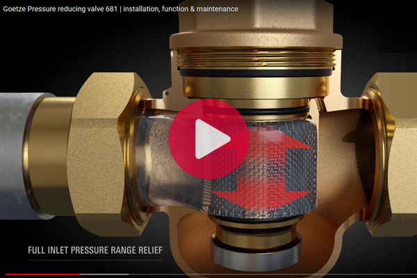 Video Assembly Pressure reducer
